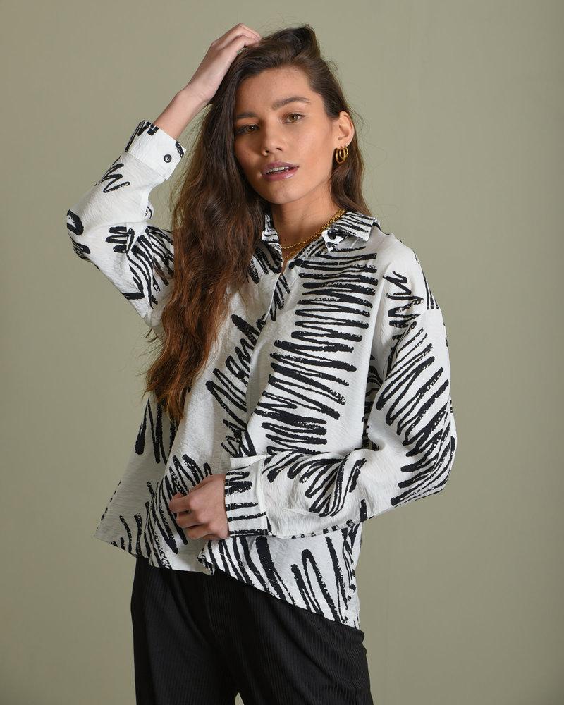 TILTIL Zaza Blouse White Print