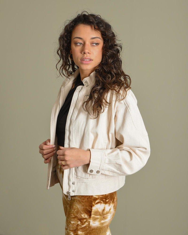 Daph Denim Jacket Off White