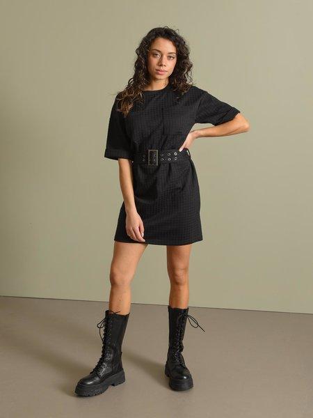 Noisy May Hound Dress Black