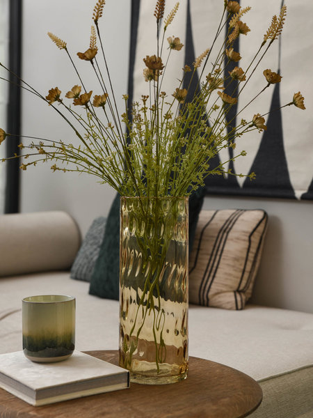 Coco maison Vase Ivy Brown