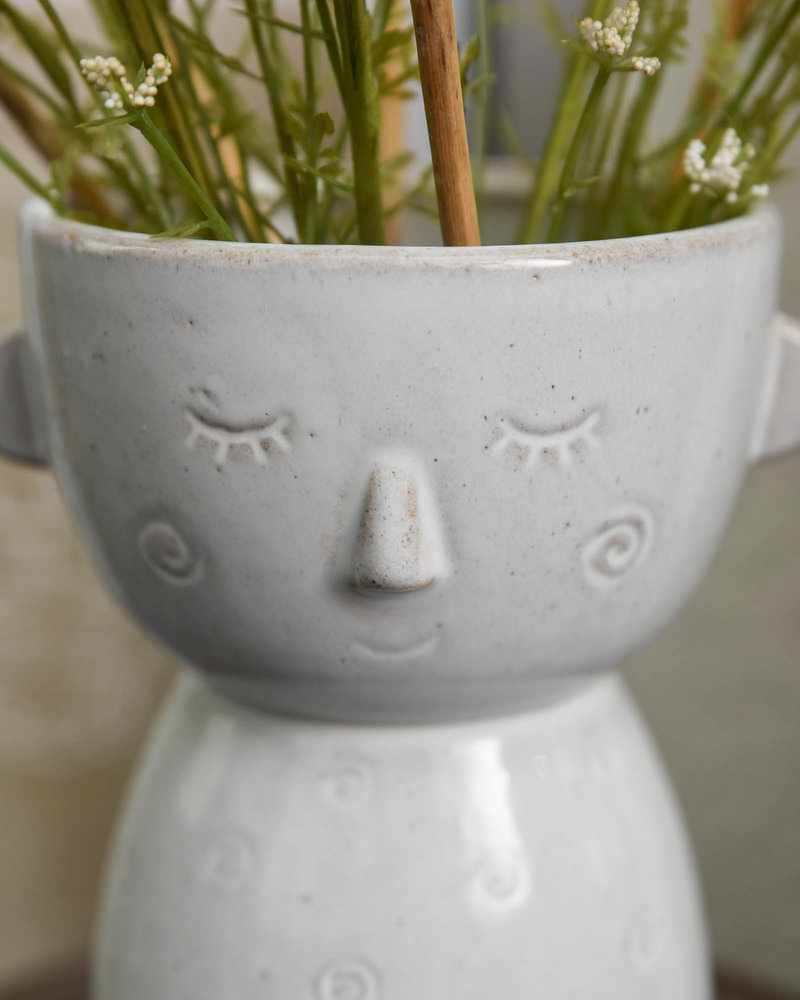 Vase Glazed Speckled Face