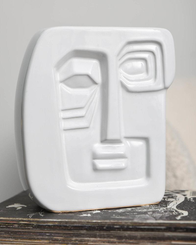 MS Vase Face Square