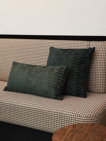 Cushion Mudeli Green Long