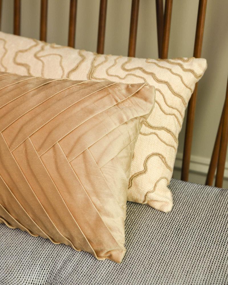 Cushion Velvet Beige