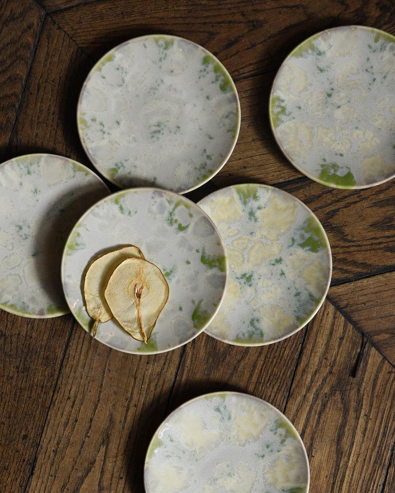 Cake Plate Ocean Vague