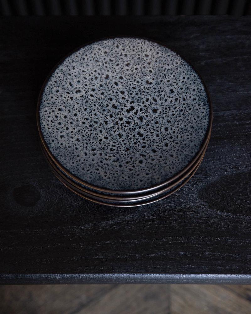 Breakfast Plate Mirha Dark Grey