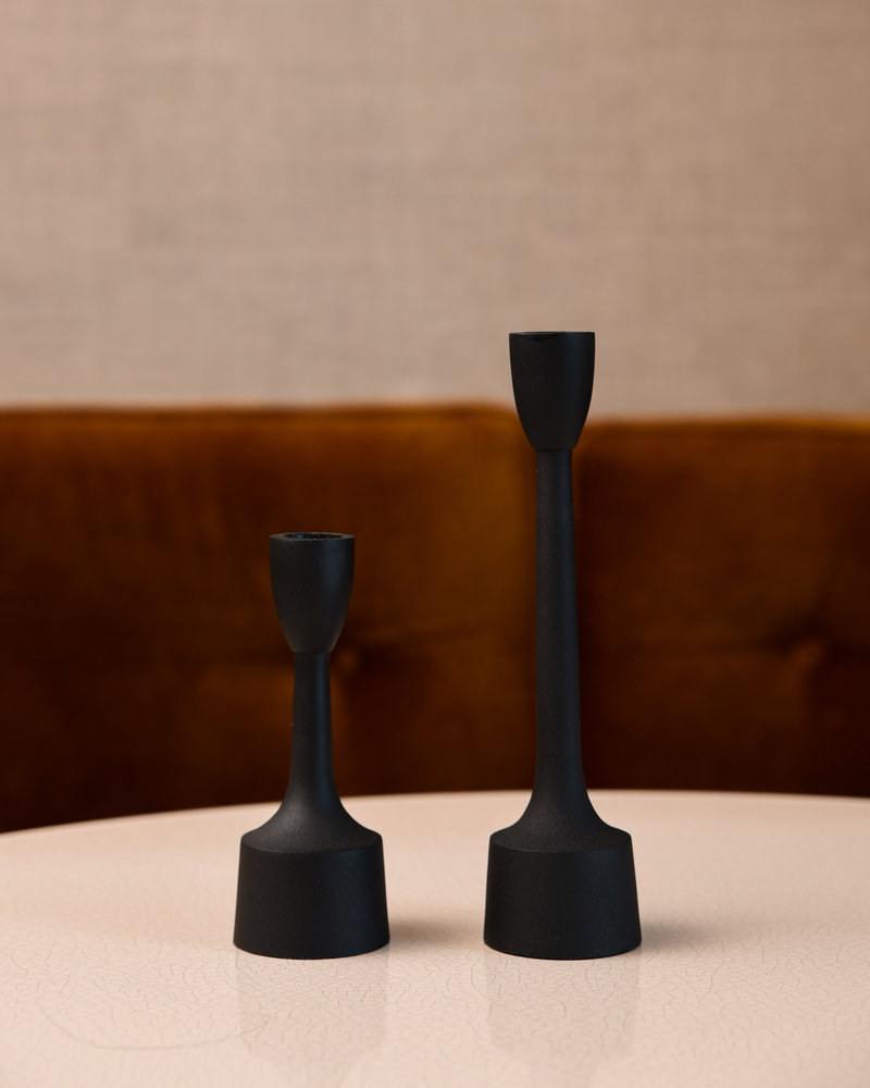 Candle Holder Culby Black