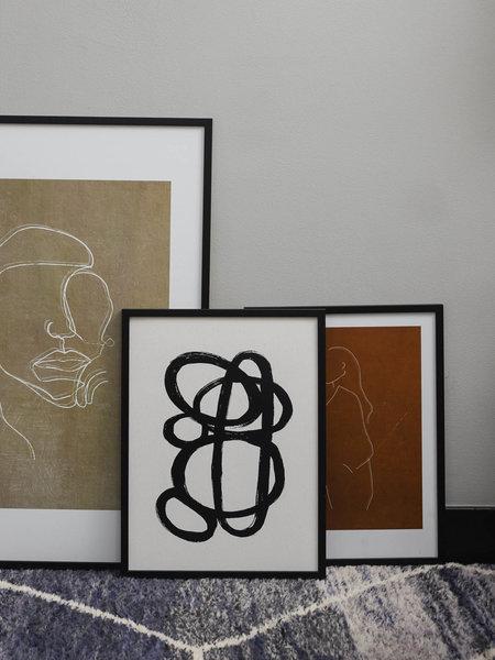 Art Print Zaco + Frame Black Pine