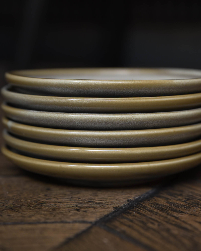 Cake Plate Green Usko