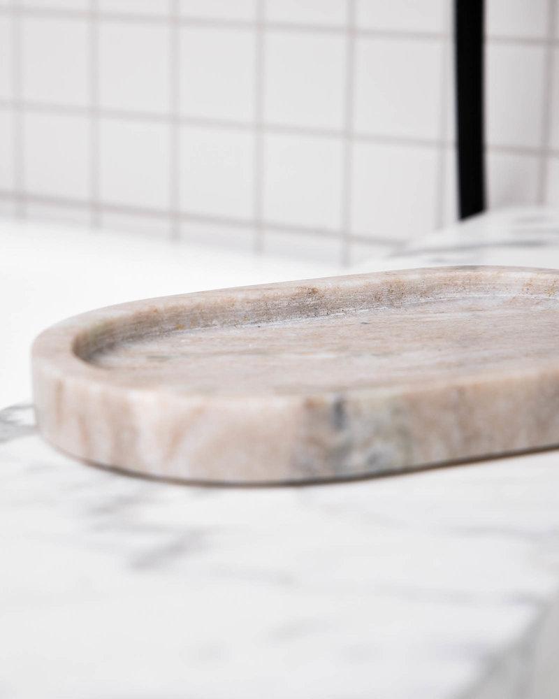 Tray Beige Marble