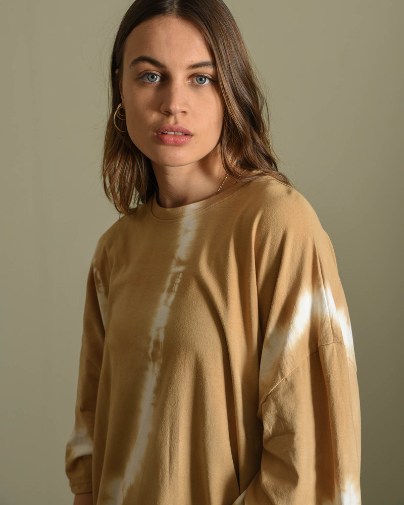 TILTIL Maxime Shirt Dress Batik Camel