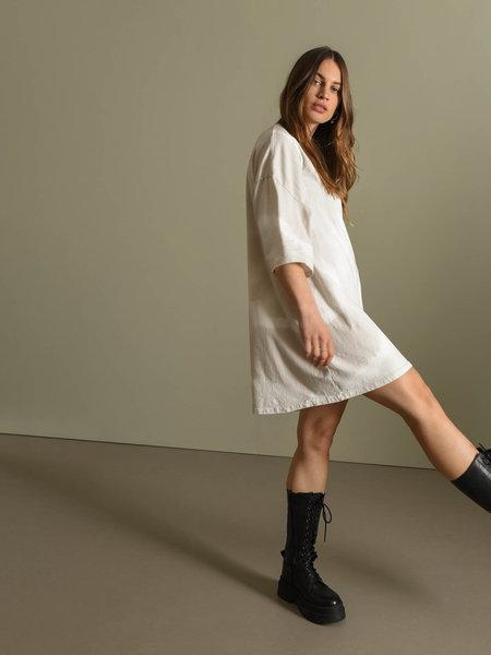 Things I Like Things I Love TILTIL Maxime Shirt Dress Batik Beige