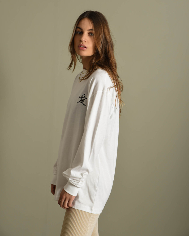 TILTIL It's Love Longsleeve White