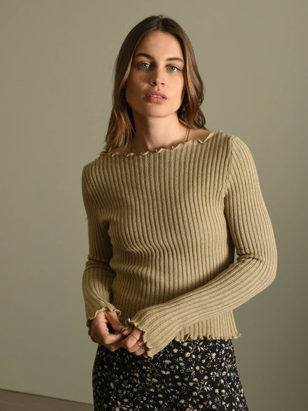 Things I Like Things I Love TILTIL Amy Frill Knit Taupe
