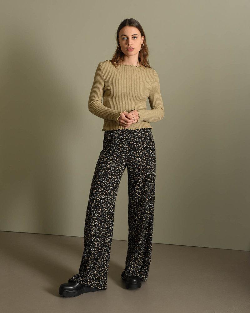 TILTIL Amy Frill Knit Taupe