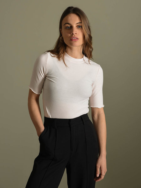 YAS Millie SS Top Rosewater