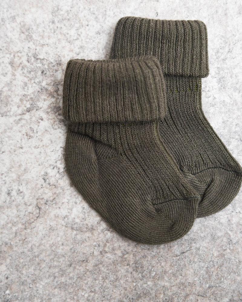 Baby Socks Khaki