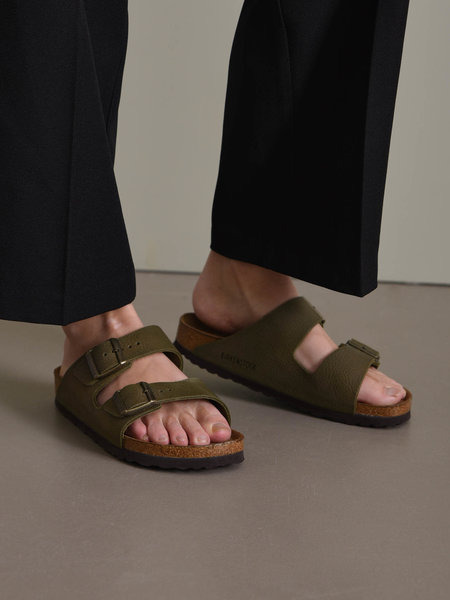 Birkenstock Arizona Steer Khaki
