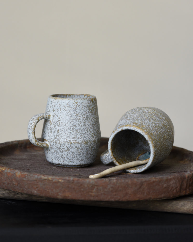 Mug Stoneware Taupe Small