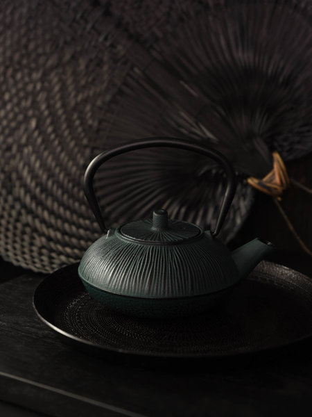 Small Teapot My Tea Black/Green