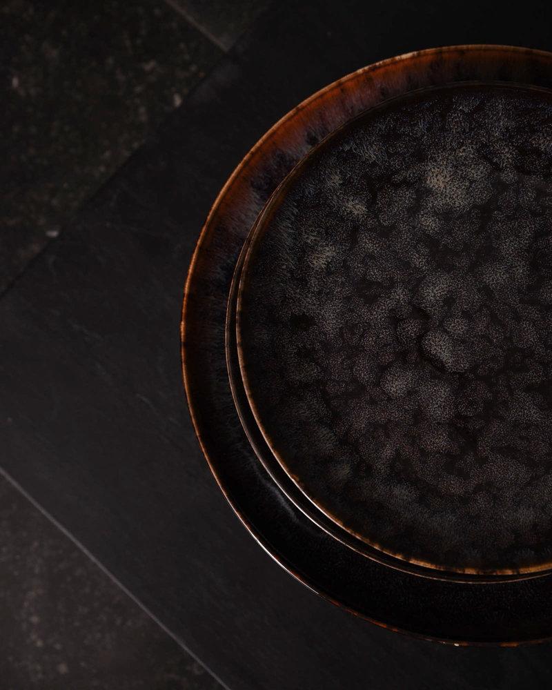 Dinner Plate Hazy Black