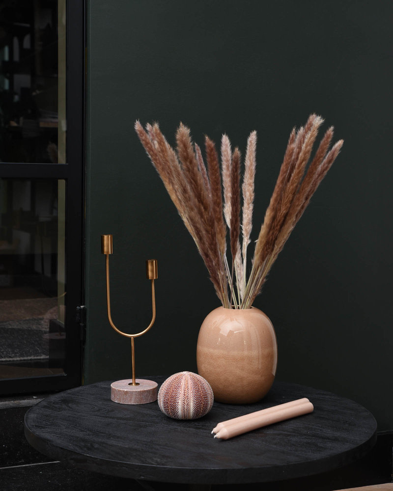 Candle Holder Florike Pink Marble