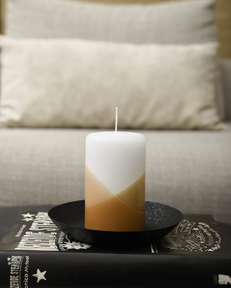 Pillar Candle Cross Blossom