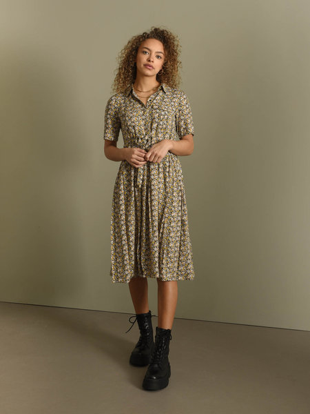 YAS Vicco Midi Dress Black