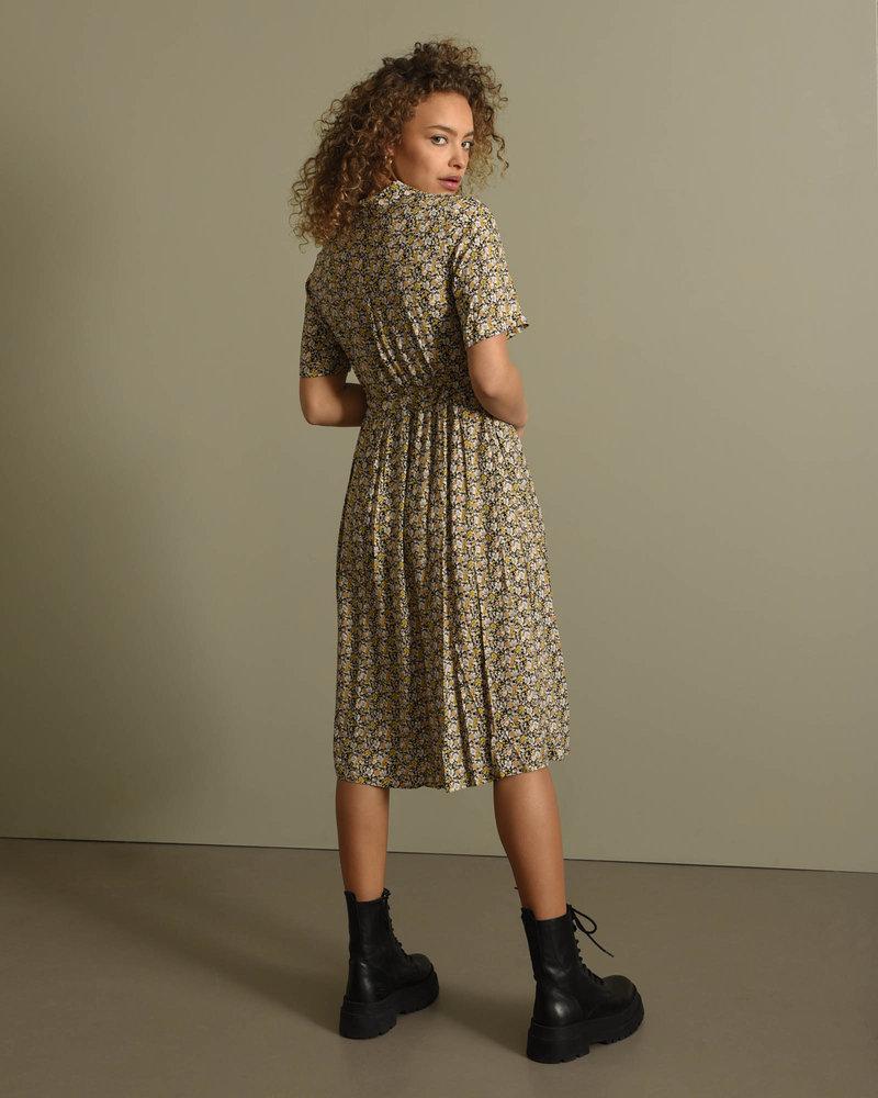 Vicco Midi Dress Black