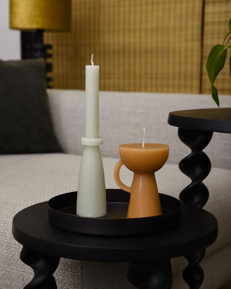 Sculpture Candle Cup Caramel