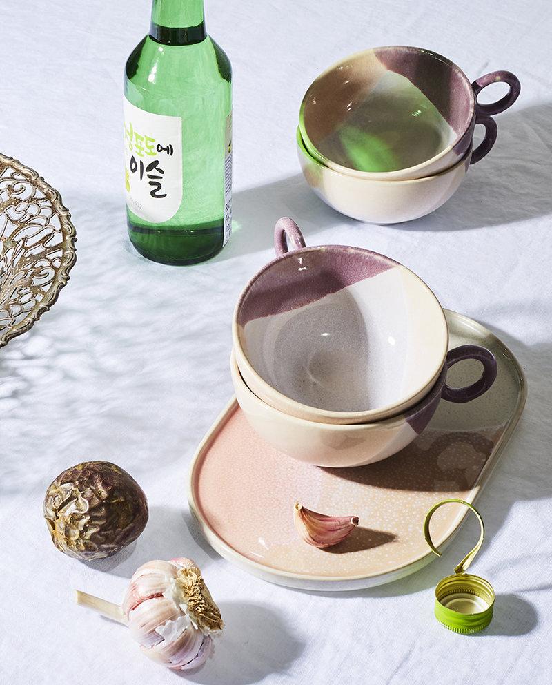 Tea Cup Nude/Lilac