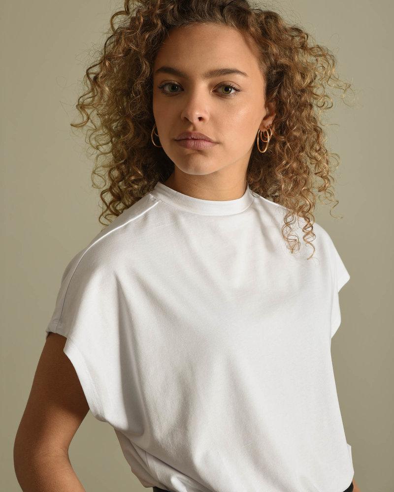 Hailey S/L Top Bright White