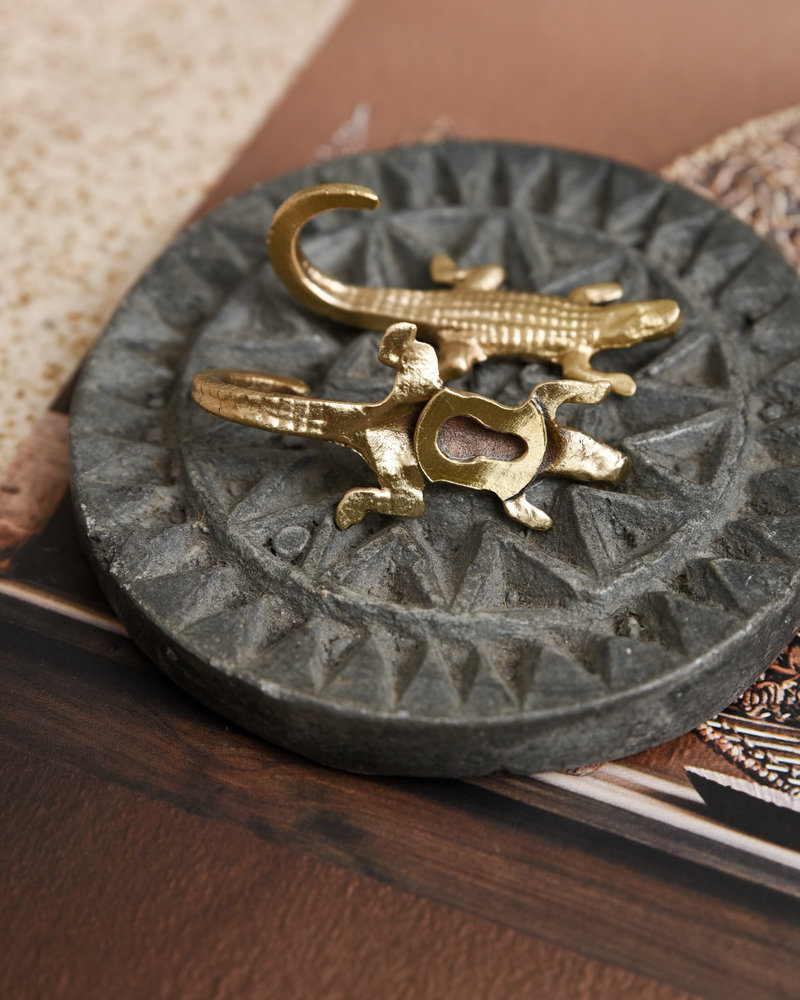 Crocodile Hook Gold Mini