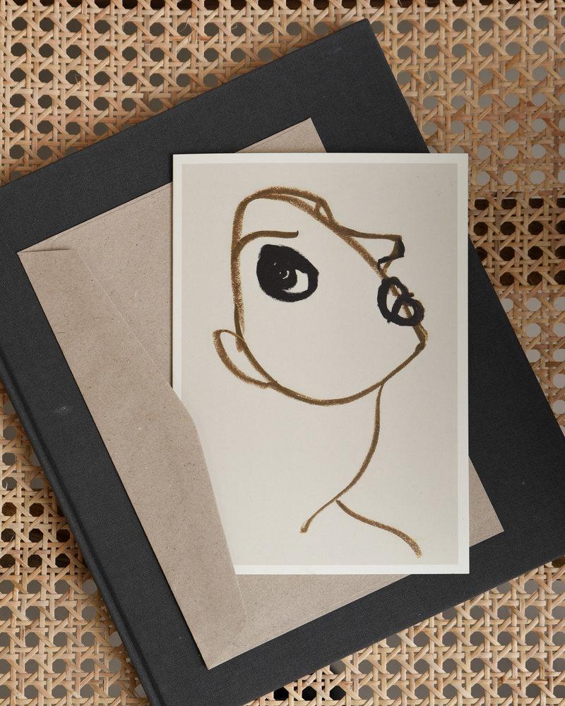 Postcard Silhouette