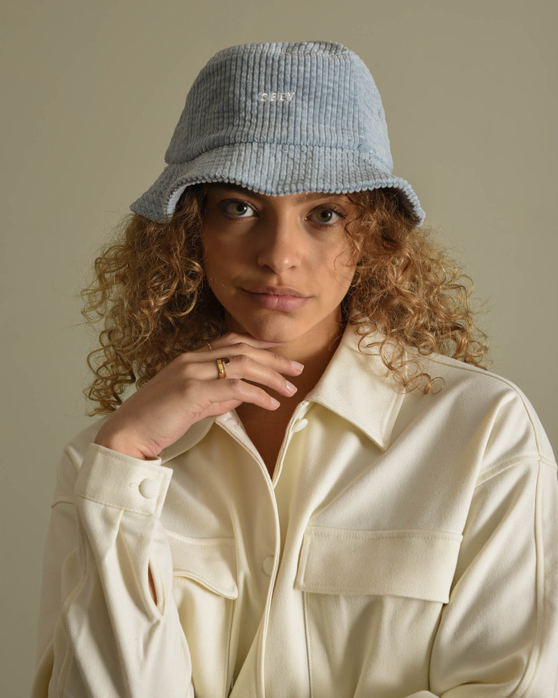 Bold Cord Bucket Hat Ice Blue