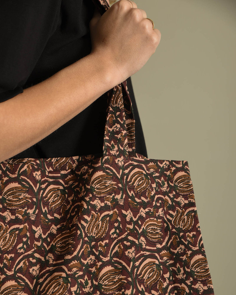 Printed Tote Bag Ruby