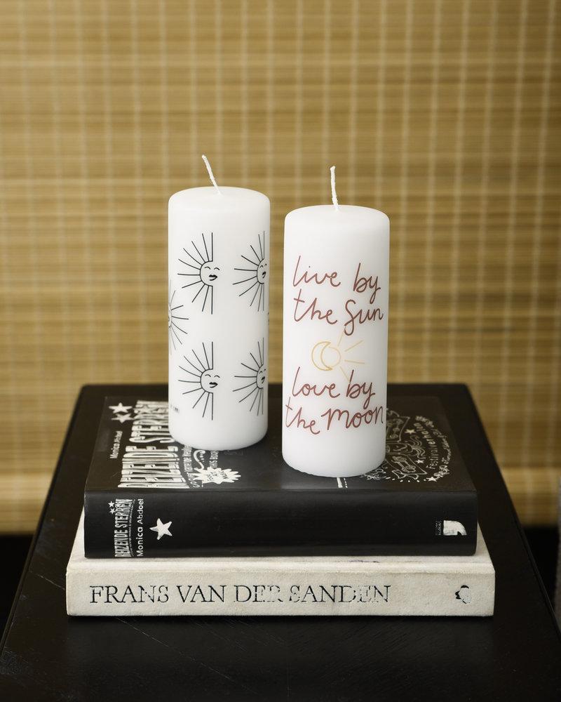 Pillar Candle Sun