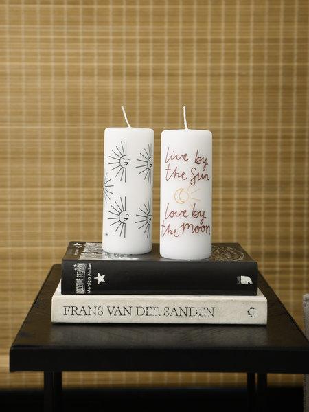 Rustik lys Pillar Candle Sun
