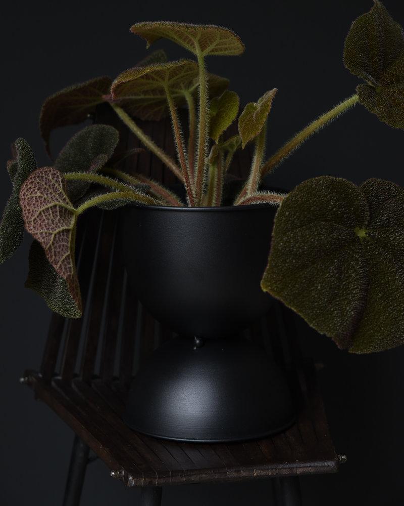 Planter Metal Black