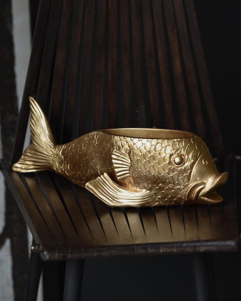 Planter Fish Gold