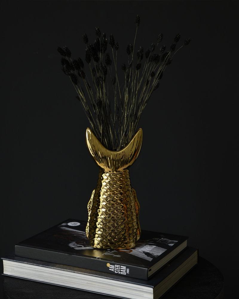 Vase Fish Tail Gold