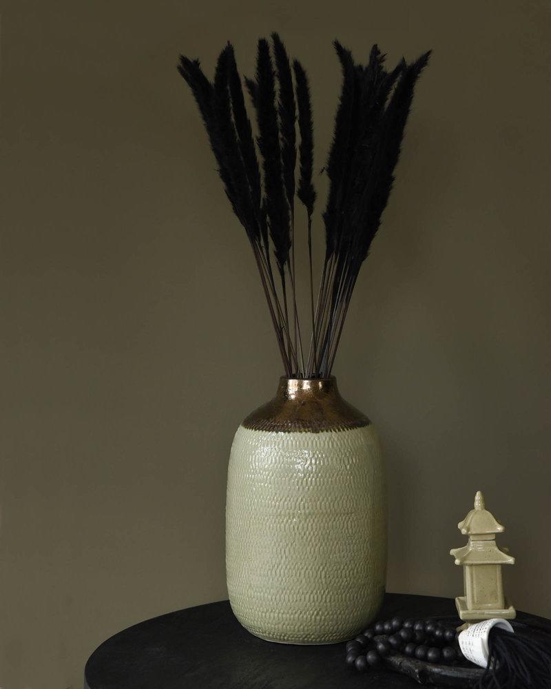 Vase Ceramic Light Green