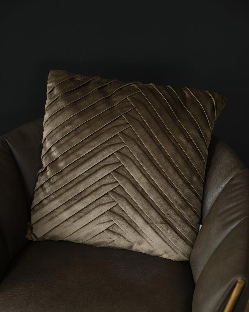 Cushion Velvet Olive