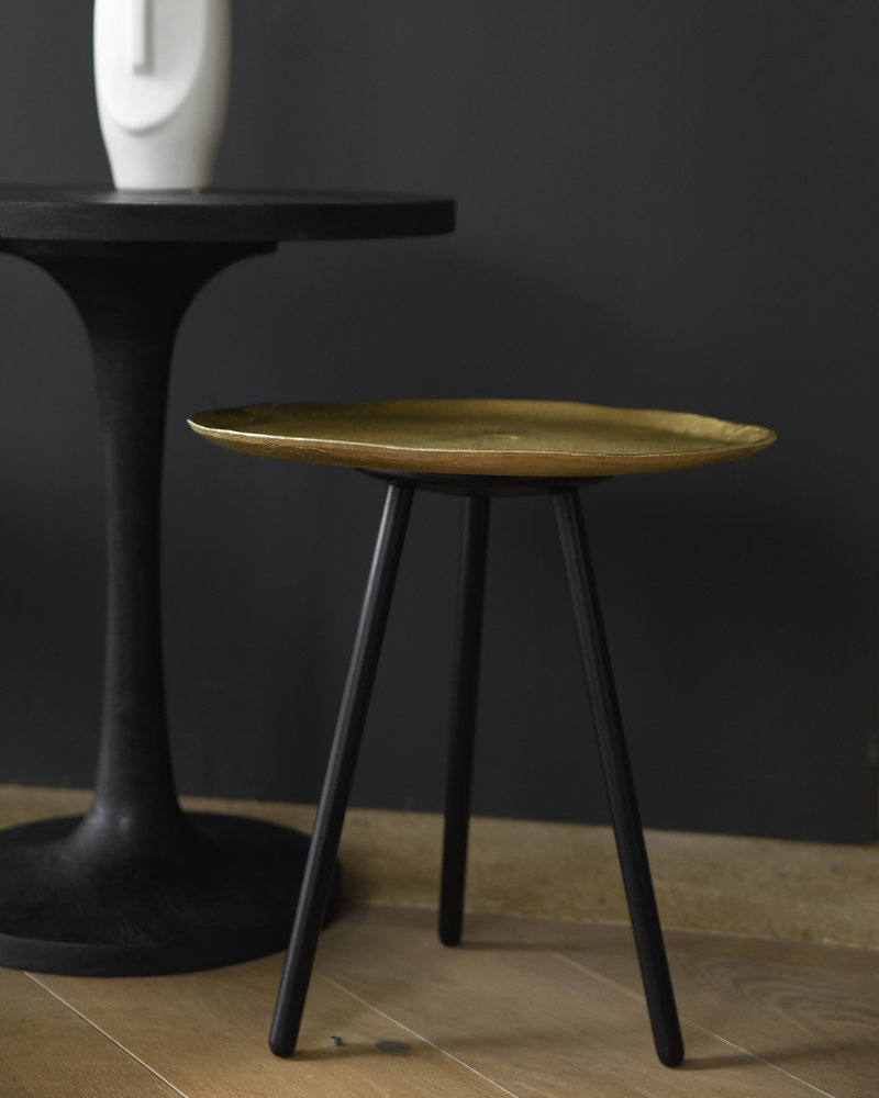 Side Table Metal Gold