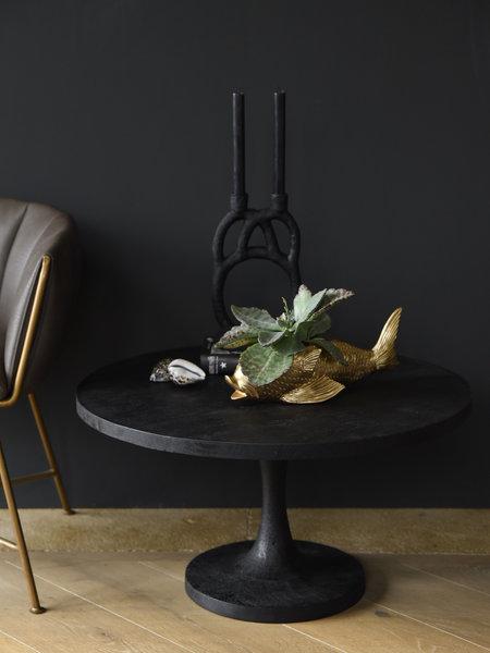 Coffee Table Bicaba Wood Black