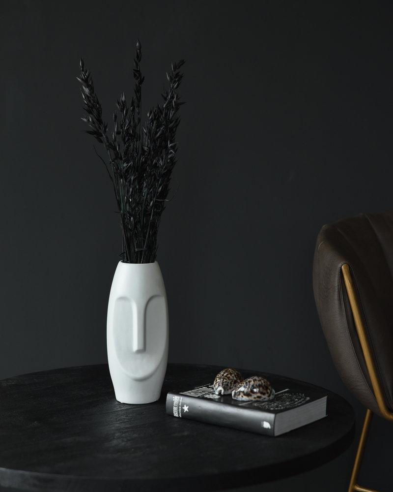 Vase Face Porcelain White