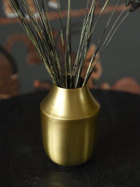 Vase Iron Gold