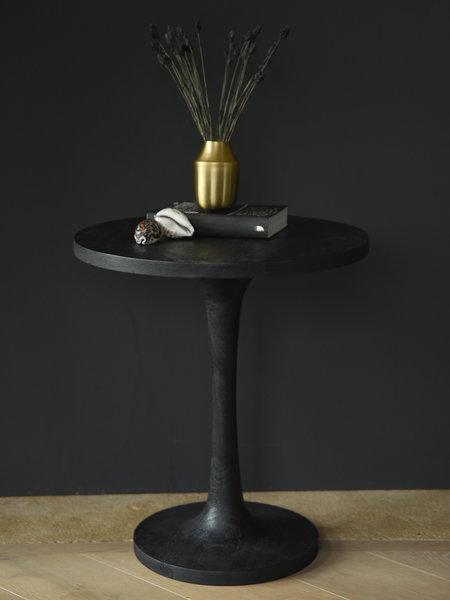 Side Table Bicaba Wood Black