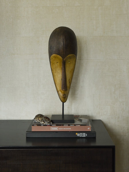 African Mask Wood