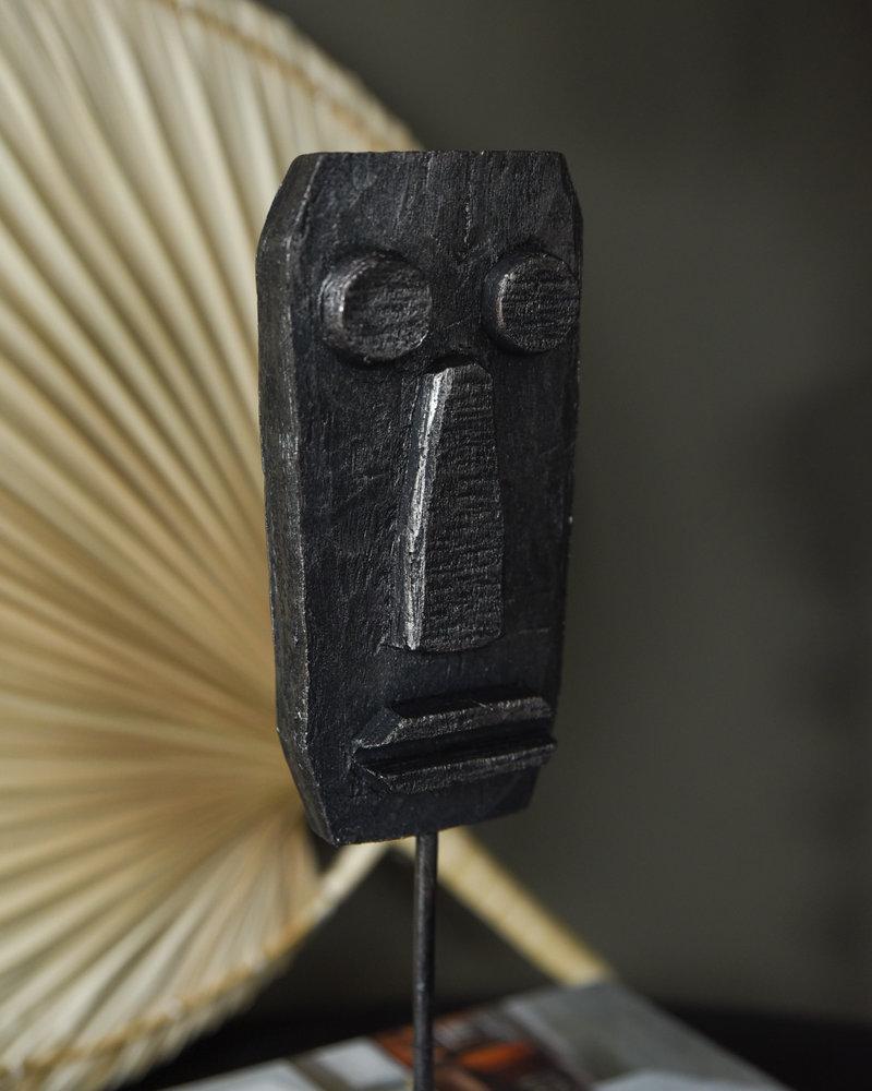 Ornament Face Black